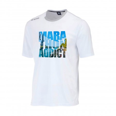 T-SHIRT HOMME R&T ADDICT MARATHON