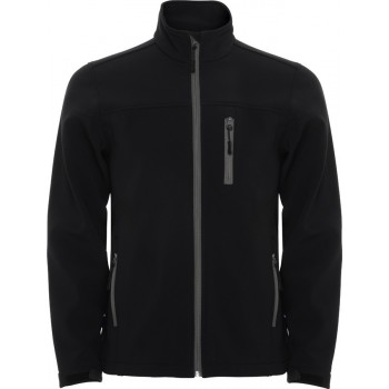 VESTE SOFTSHELL HOMME MARQUAGE 1 COULEUR