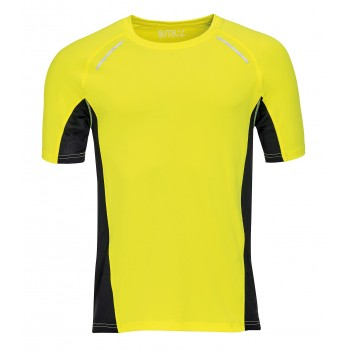 T-SHIRT RUNNING HOMME MARQUAGE 1 COULEUR